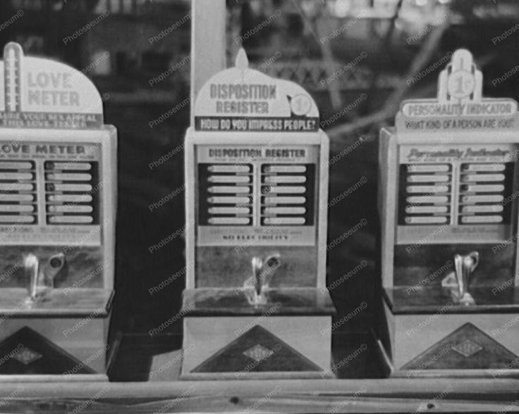 Love Meter Arcade Games 8x10 $19.99 Free Shipping
