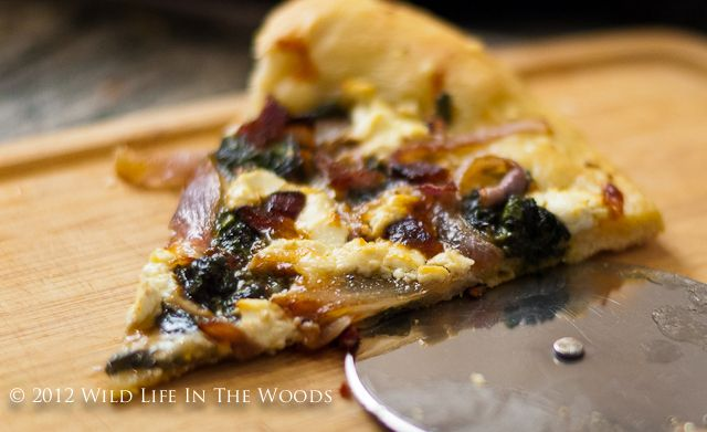 Pizza Bianca with Goat Cheese and Swiss Chard — That Susan Williams