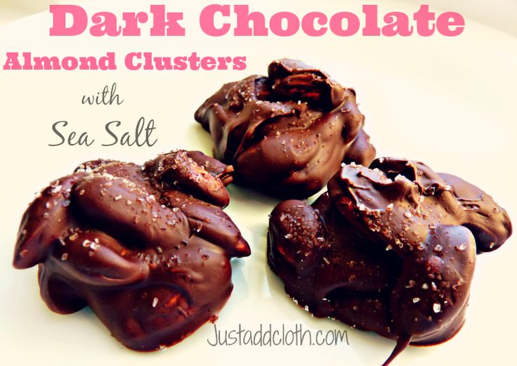 Dark Chocolate Nut Clusters Recipe — Dishmaps