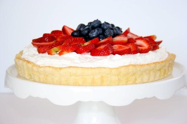 Strawberry and Blueberry Shortcake Tart   Awesome Recipes   Pinterest