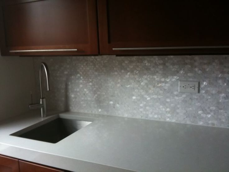 mother of pearl backsplash kitchen needs some sass pinterest