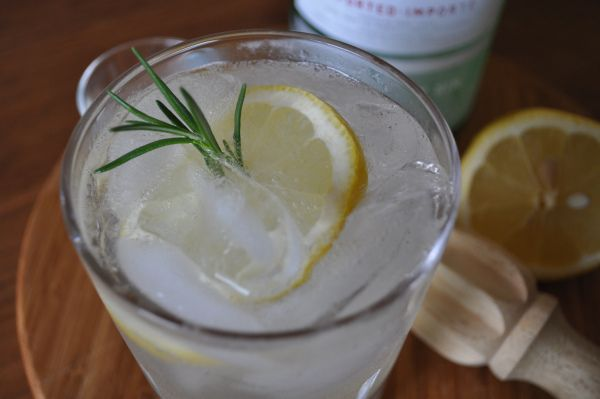 Rosemary Gin Fizz | Cocktail Hour | Pinterest
