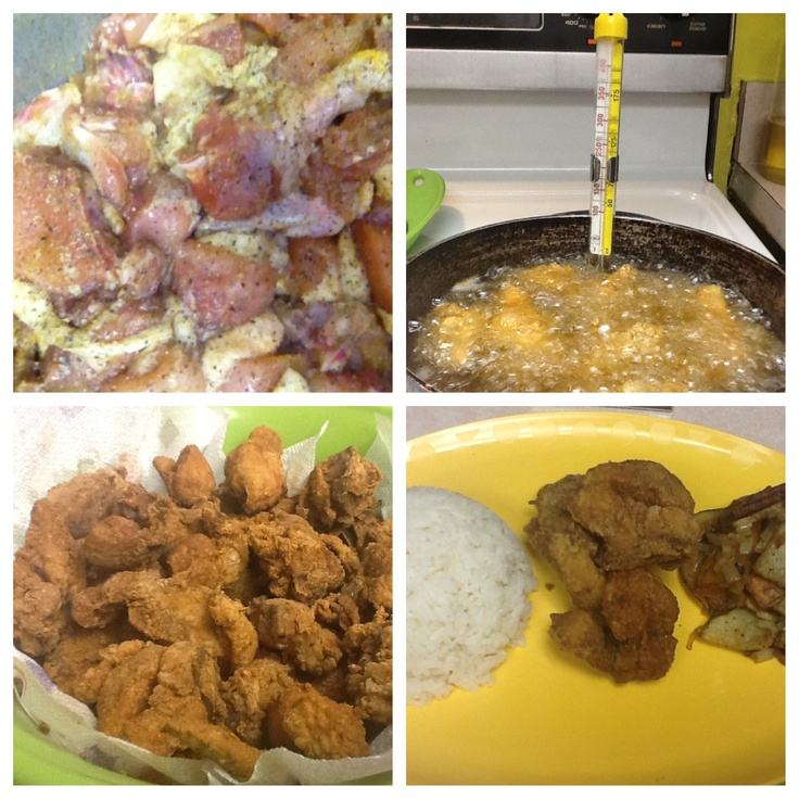 Garlic/Cumin fried Chicharron de Pollo (fried chicken... Like and ...