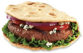 Flatout Bread - Amazing Foldit Big Juicy Burger