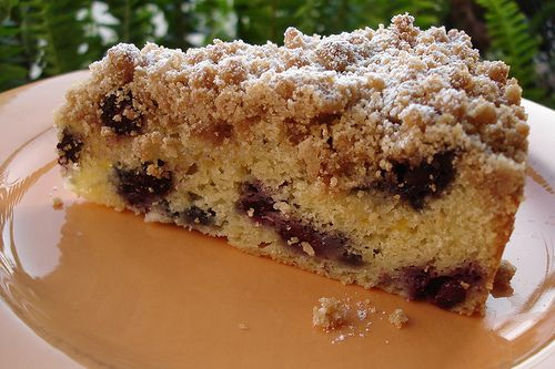 Blueberry Crumb Cake | Cakes | Pinterest