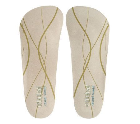 vionic w orthaheel 2 pack slim fit dress orthotic shoe