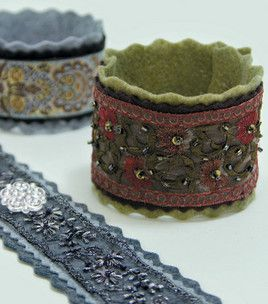 Creative Cuff bracelets - really quick! We need to make these girls!