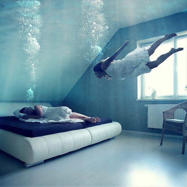 underwater bedroom  Photography  Pinterest