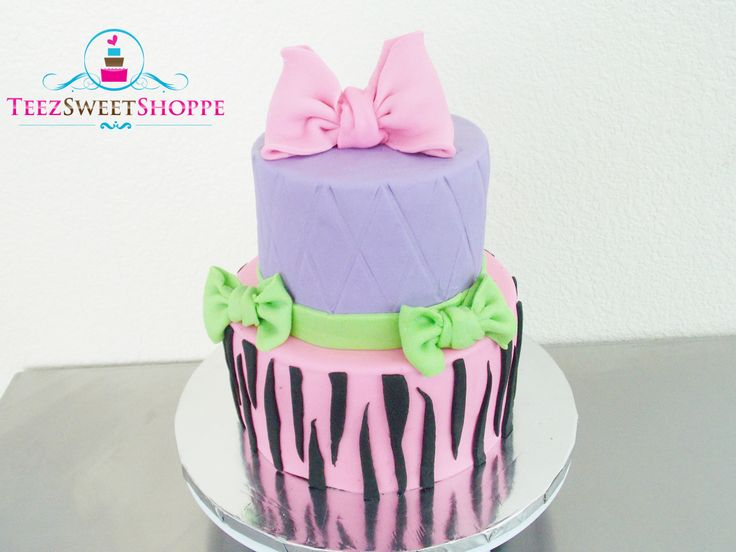 Perfect for a young girls birthday  Birthday Cakes for Kids  Pinter ...