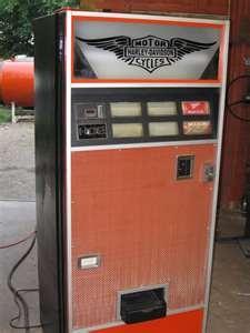 Harley Davidson Vending Machine in Glenford, Ohio
