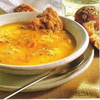 Pumpkin Rice and Chicken Soup | Food | Pinterest