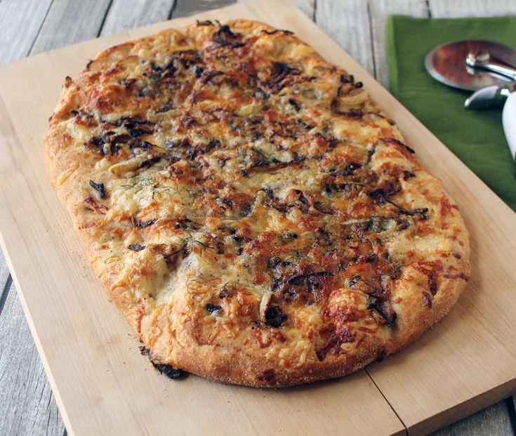 Fennel, Onion & Fontina Pizza