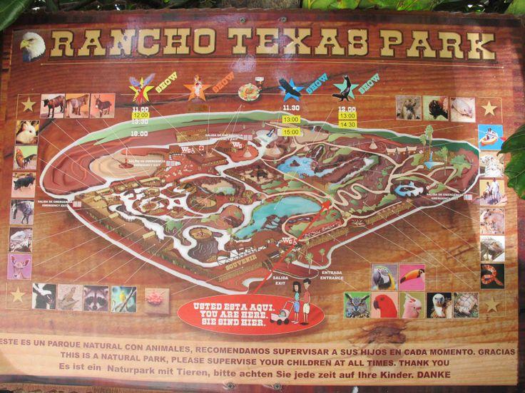 Rancho Texas Park, Lanzarote  Playa Real and Flamingo, Playa Blanca