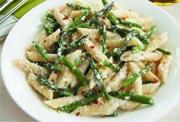 PENNE AND ASPARAGUS WITH RICOTTA CHEESE | Favorite Recipes | Pinterest