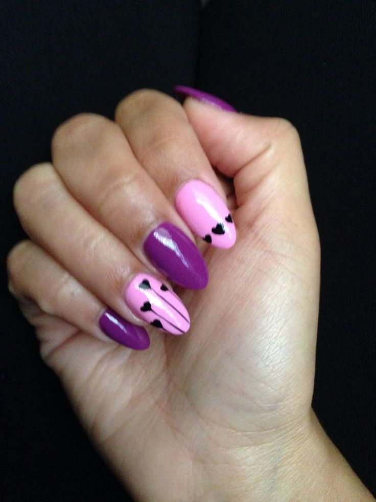 Almond shaped nails | Nail Swag | Pinterest