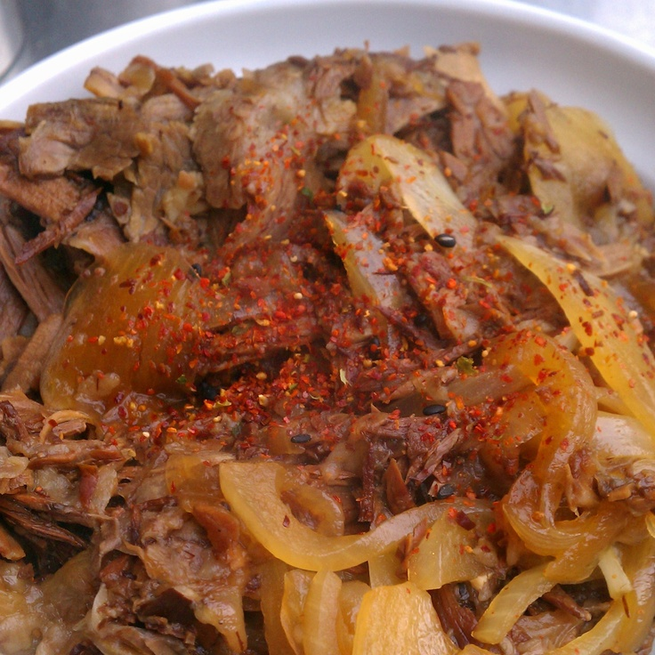 Gyudon !! (beef bowl) | FACS: Ethnic food -- for International Foods ...