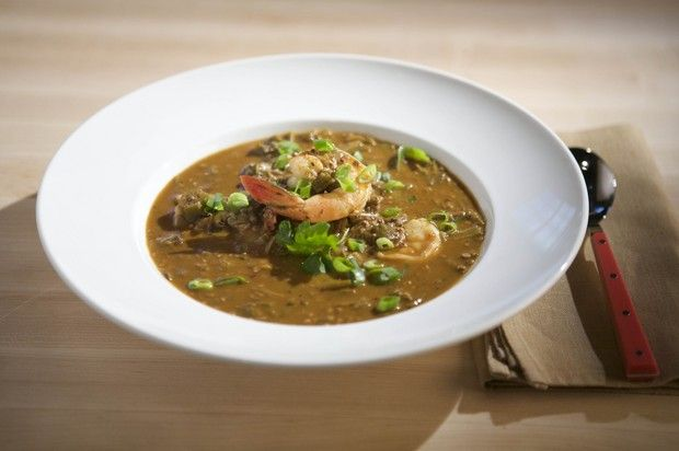 Okra and Shrimp Gumbo | Foods and recipes! | Pinterest