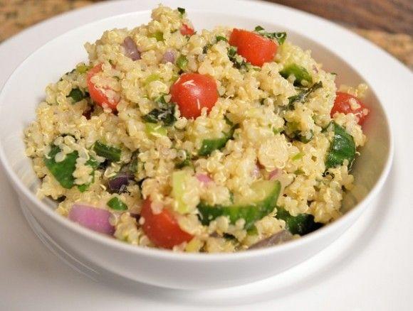 Quinoa Tabbouleh | Spring salad recipes | www.cataldolife.com