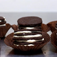 Chocolate Wafer + Icebox Cupcakes | *Delicious Desserts* | Pinterest