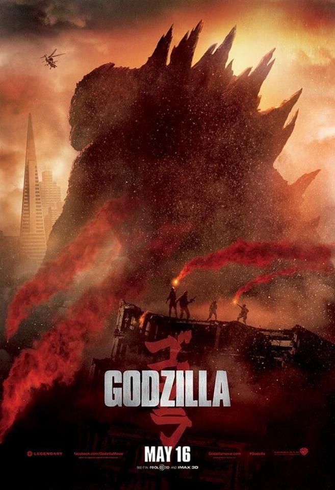 New Godzilla 2014 Poster