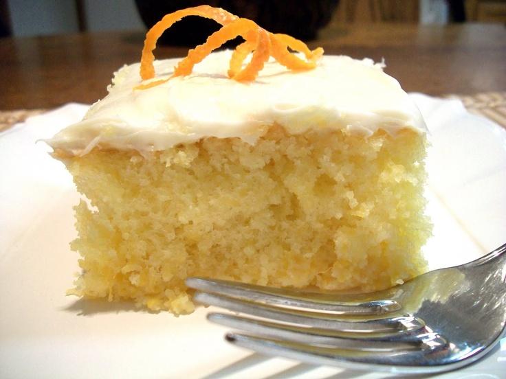 Orange Mandarin Cake   Cakes   Pinterest