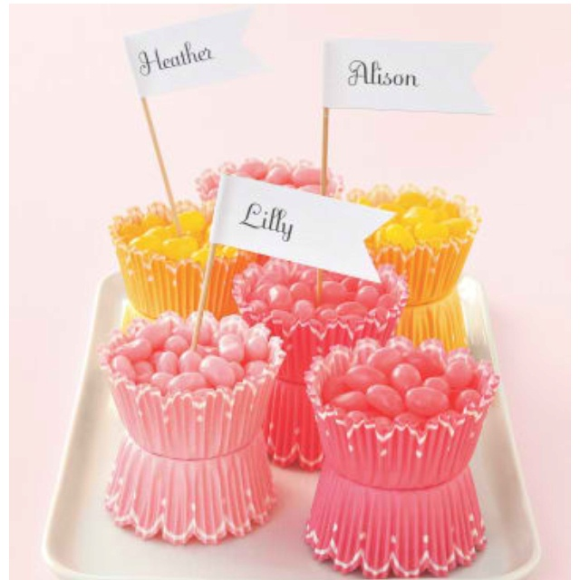 Party Jelly Ideas: Cupcake Jelly Bean Party Favors