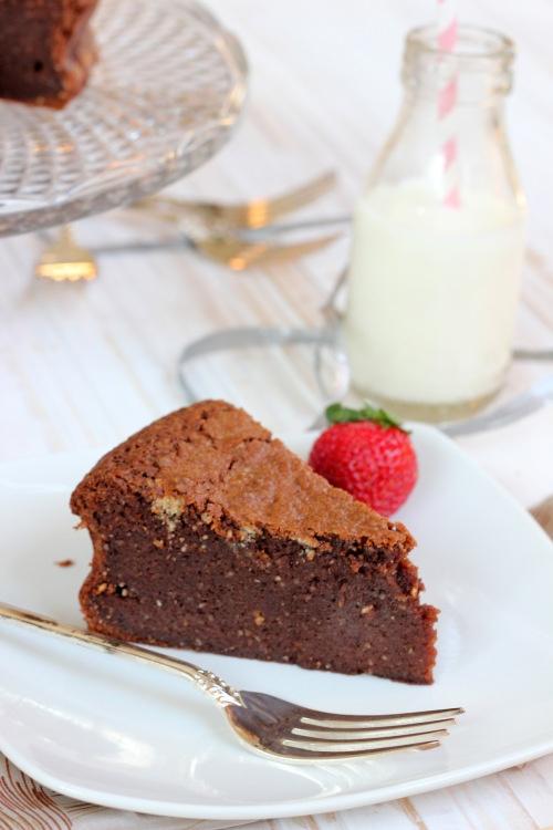 Flourless Chocolate Hazelnut Mud Cake   Butter