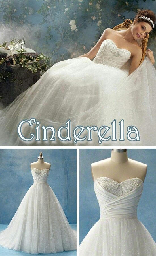 Princess Cinderella Wedding Dresses : Cinderella disney princess wedding dress