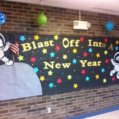 Blast Off Into A New Year Classroom Idears Pinterest