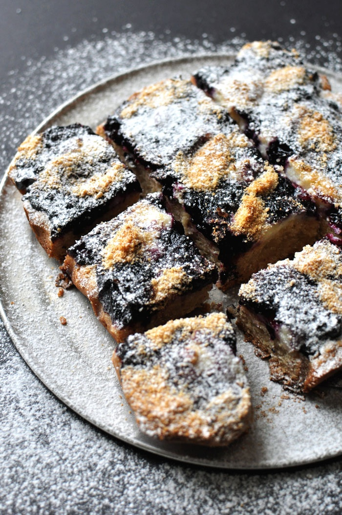 Blueberry & Cream Cheese Cookie Bars | Cookies, Bars and Macarons | P ...