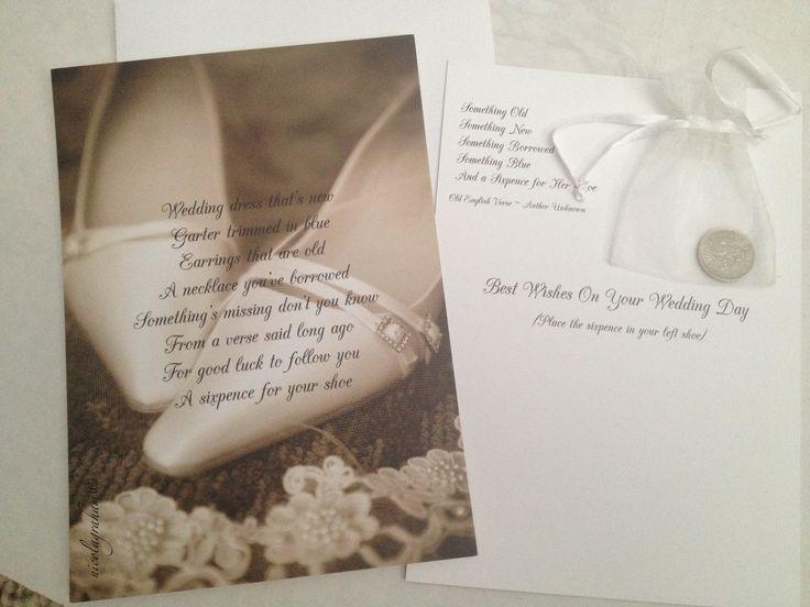Wedding Gifts For Good Luck : ... gift #wedding #sixpence #something old something new #bridal #good