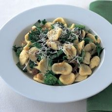 Orecchiette with Sprouting Broccoli, Pine Nuts and Sultanas Except ...
