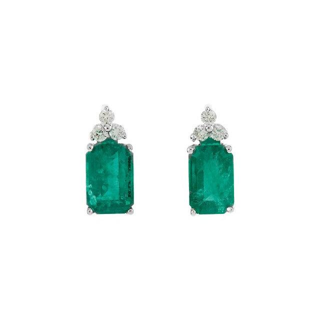 Emerald earrings houston gratis