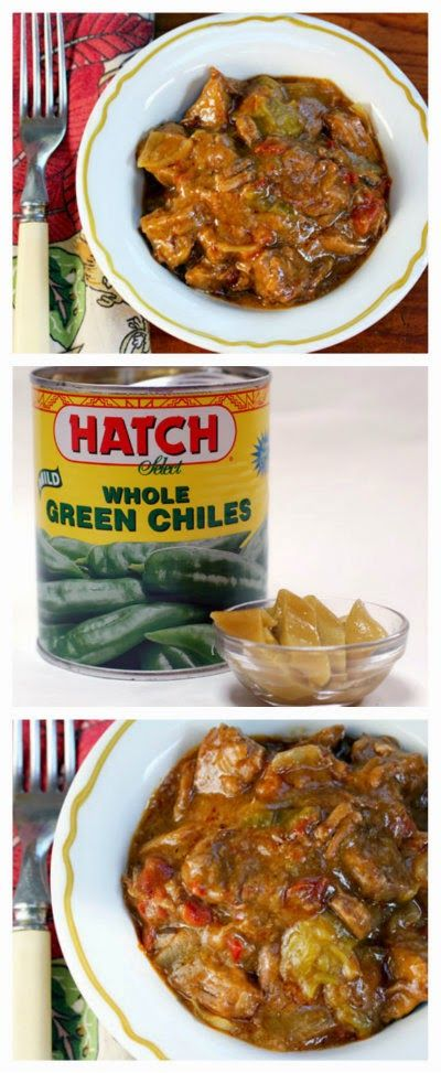 Slow Cooker Beef and Green Chile Stew from The Perfect Pantry; this ...