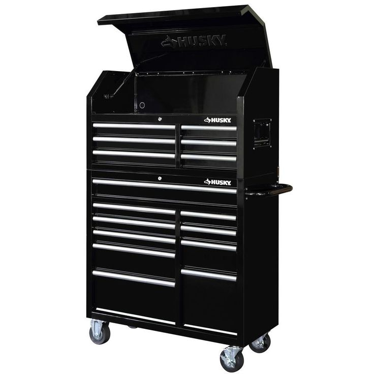 Husky  Drawer Tool Chest And Cabinet Set Hotcbqes At The