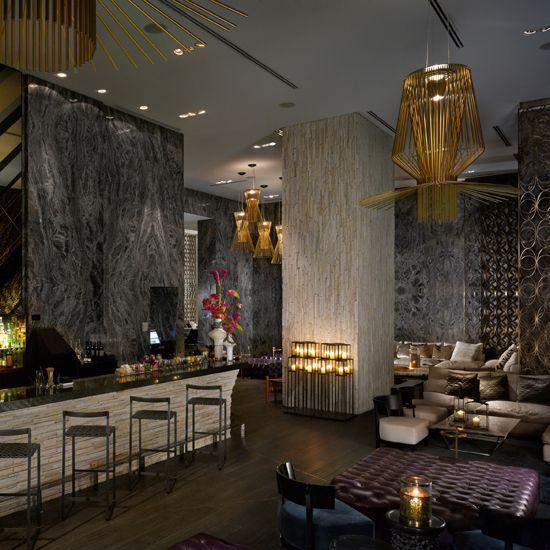 hotel bars living room bar miami beach