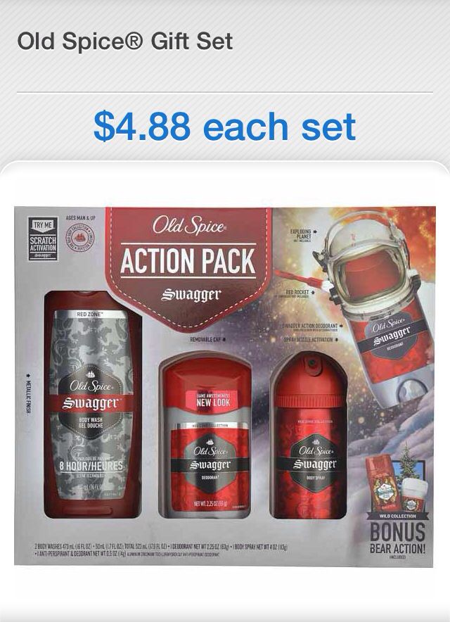 Old spice coupons nov 2018