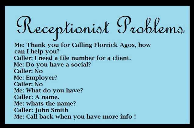 Funny Memes For Receptionist : Receptionist quotes quotesgram