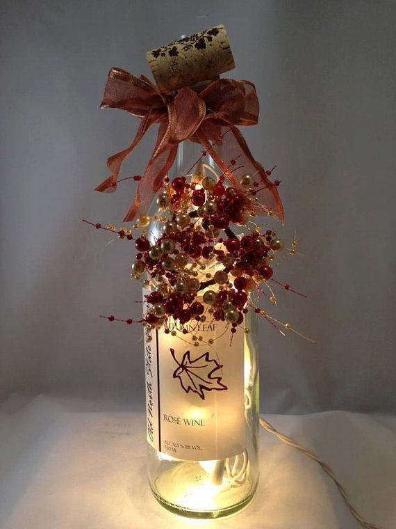 Decorative Wine Bottle Light