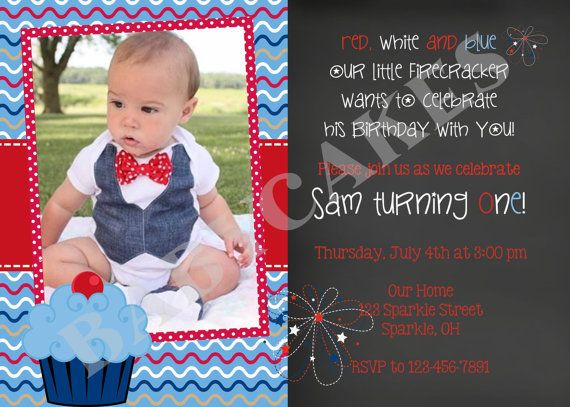4th of july 1st birthday party ideas