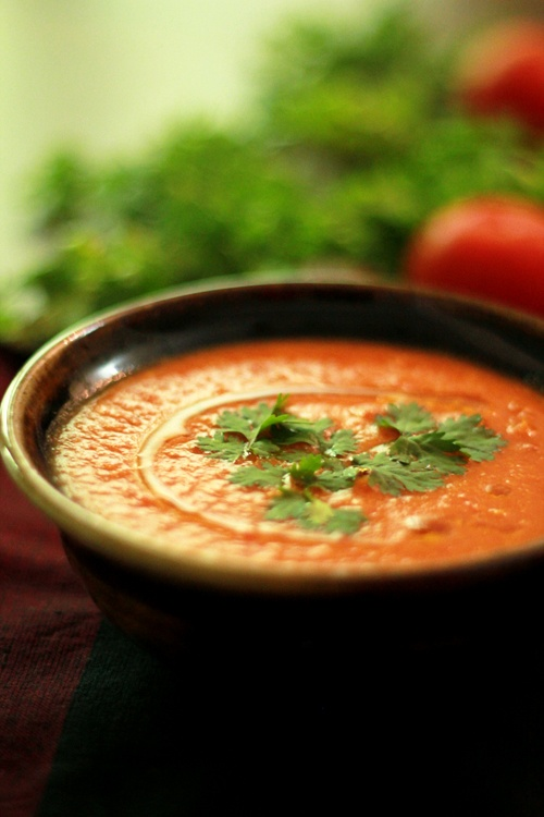 Roasted Tomato Soup Recipe .... | Soup/Stew/Bisque...comfort in a bow ...