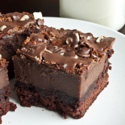 Chocolate Mousse Brownies | cupcakes & Cakes,cookies | Pinterest