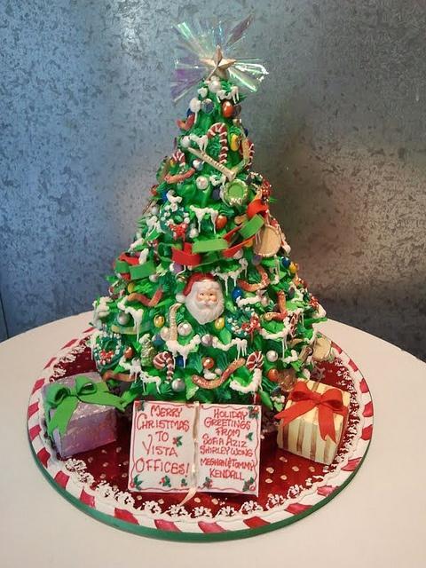 christmas tree cake - photo #46