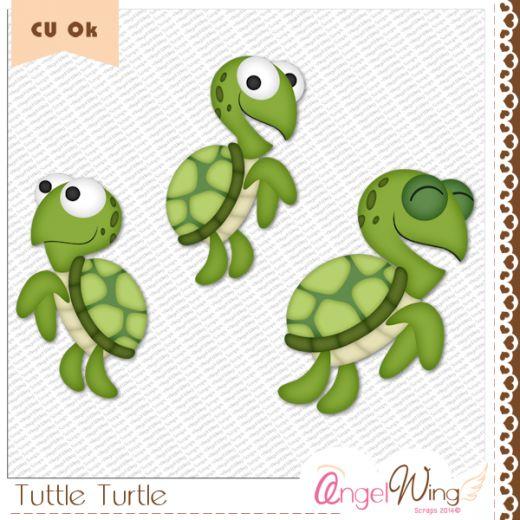 CU Tuttle Turtle Clip Art   Clip Art & Stickers   Pinterest