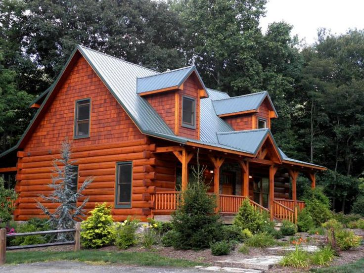 Landscaping Pictures For Log Homes : Pin by emily zirkel on log cabin decorating ideas