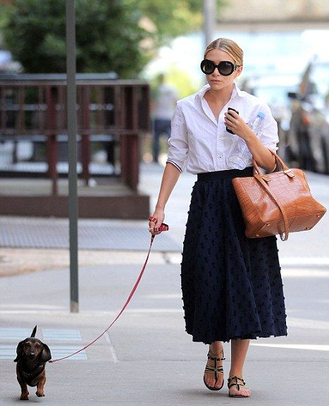 oh olsen twin, don't which one are you, but i love your style!