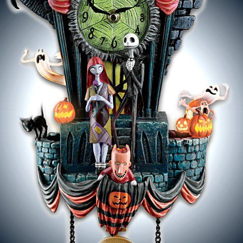 The Nightmare Before Christmas Cuckoo Clock - detail 2
