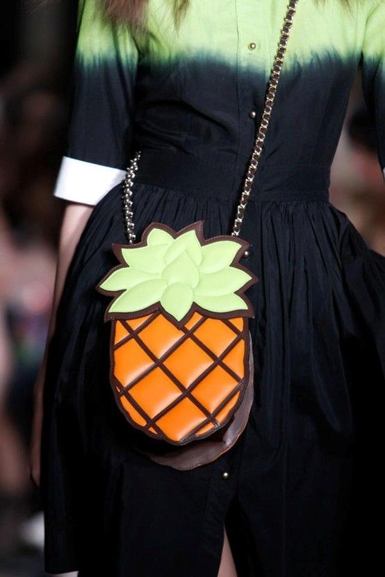 A pineapple a day... Moschino Cheap and Chic Spring/Summer 2013