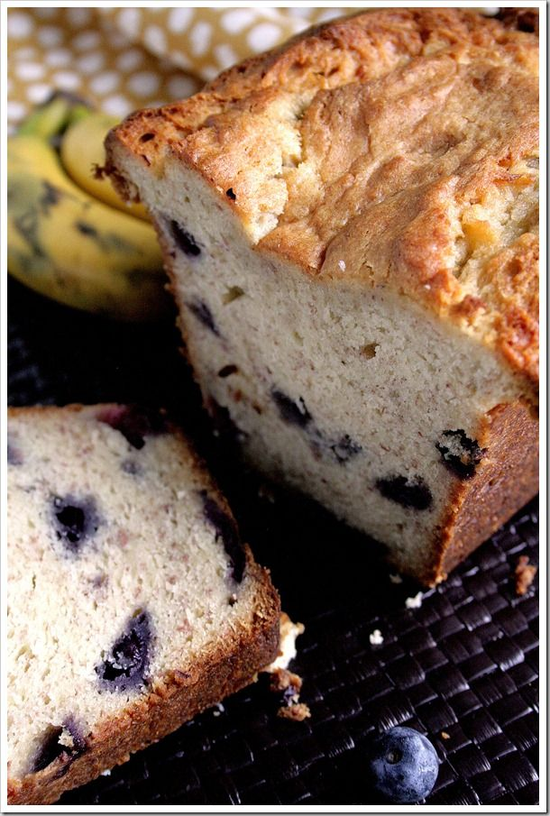 Blueberry Cream Cheese Banana Bread | Sweets | Pinterest