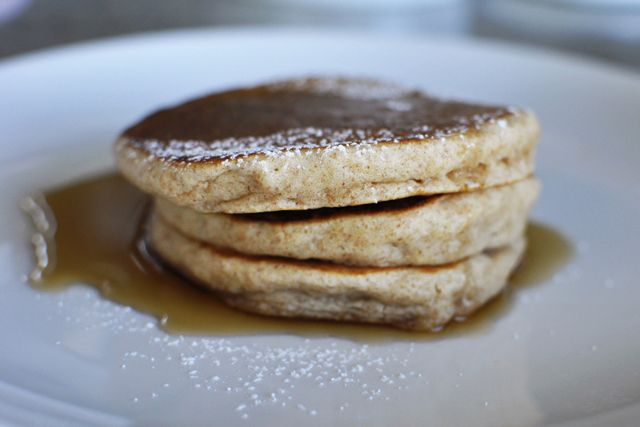 Sunday Morning Pancakes -fluffy, healthy, simple